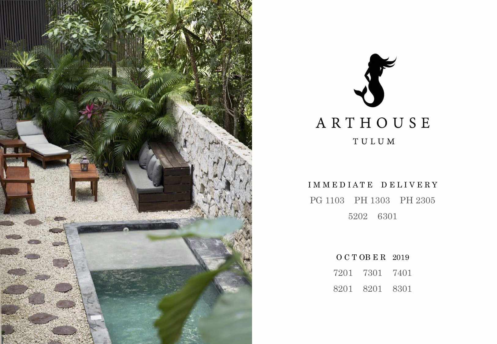 Arthouse immediate Delivery
