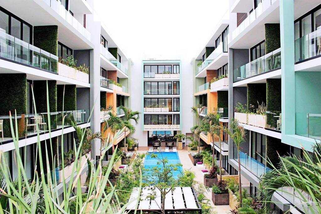 Playadelcarmen-penthouse-for-sale-garden