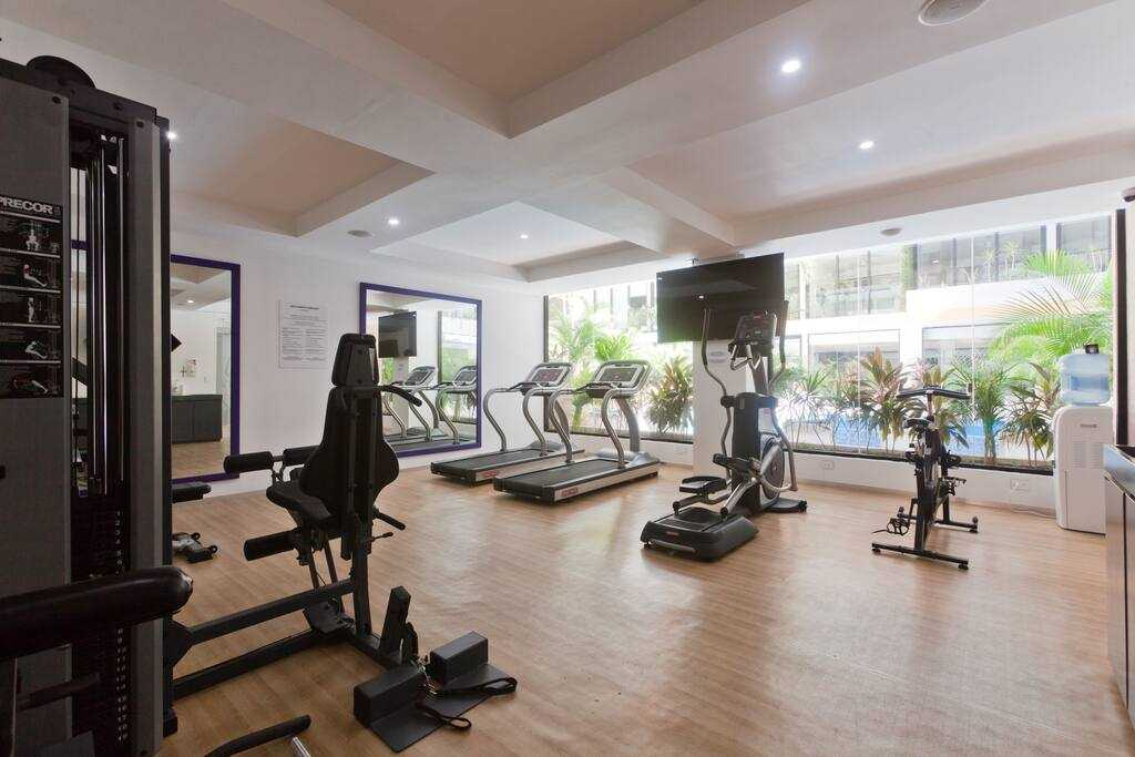 Playadelcarmen-penthouse-for-sale-gym