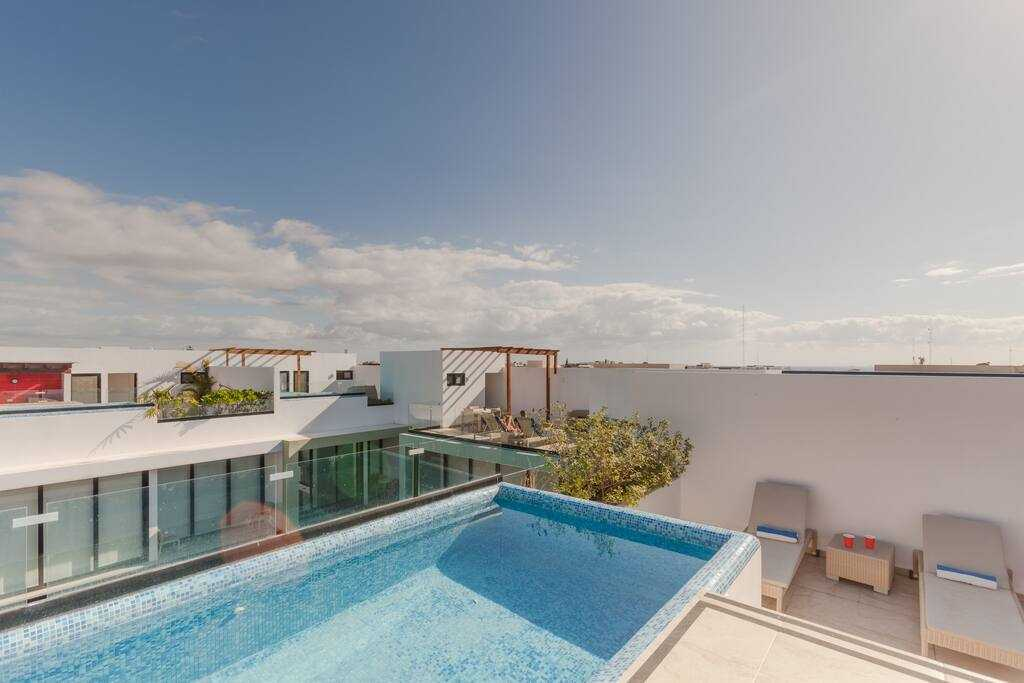 Playa del carmen penthouse for sale rooftop pool