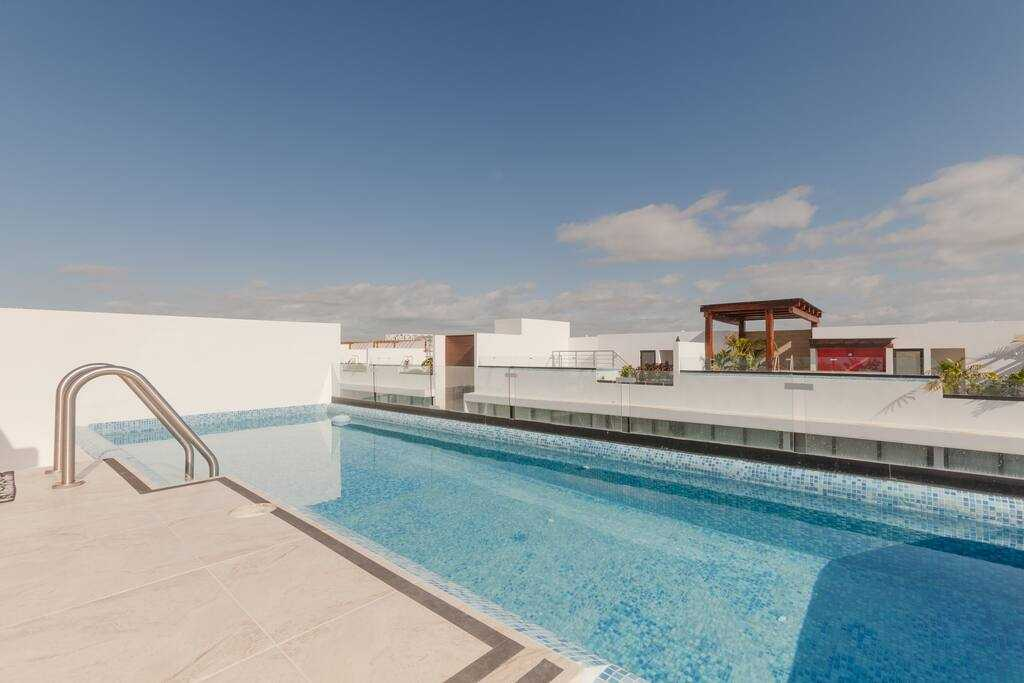 Playa del carmen penthouse rooftop pool the city