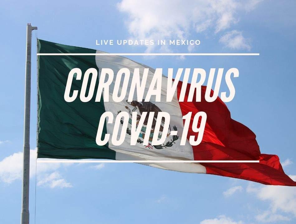 Coronavirus COVID-19 Mexico Updates on Live Map