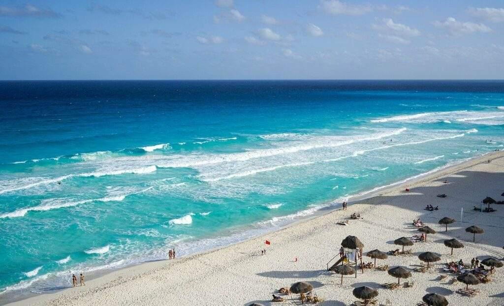 cancun, mexico, beach