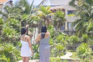 Tulum Real Estate Agent Showing Home