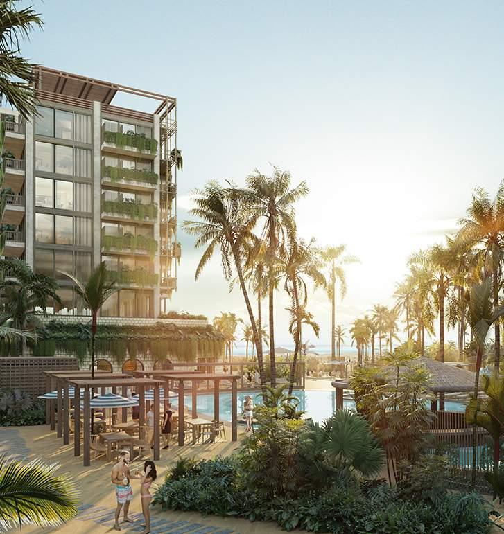 Beachfront Residence Corasol in Playa del Carmen