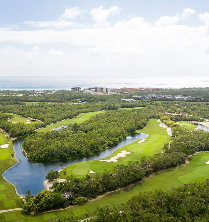Residence near Golf Course in Playa del Carmen