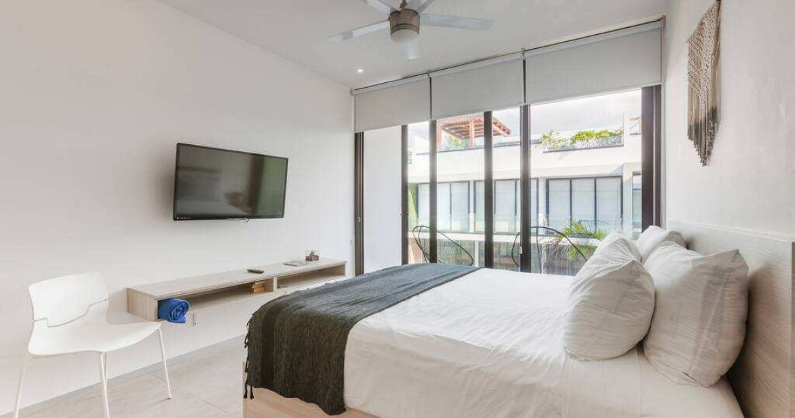 Playadelcarmen-penthouse-for-sale-bedroom-view