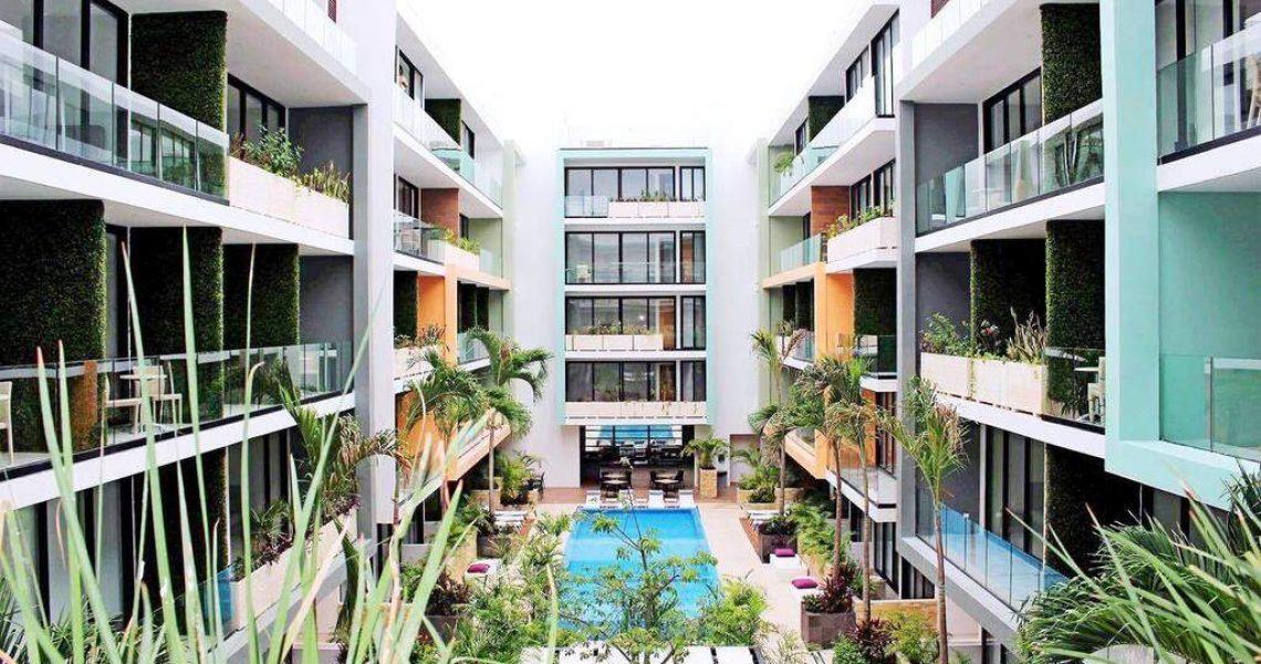 Playadelcarmen-penthouse-for-sale-garden