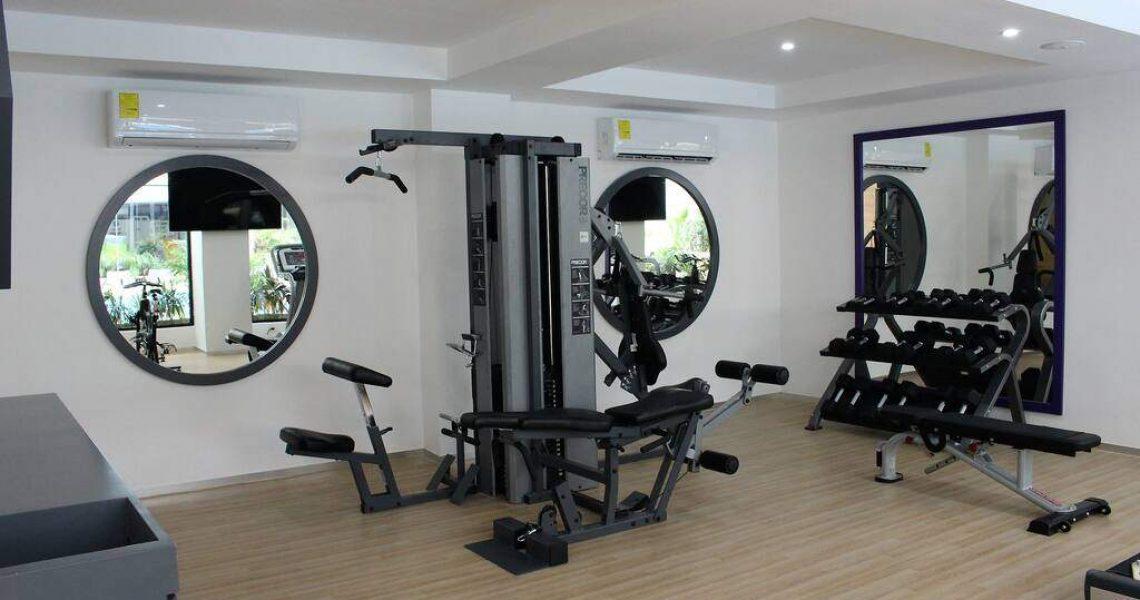 Playadelcarmen-penthouse-for-sale-gymnasium