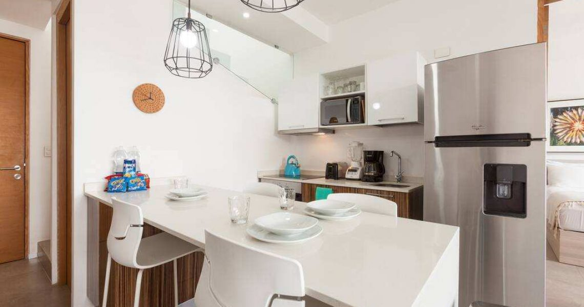 Playadelcarmen-penthouse-for-sale-kitchen