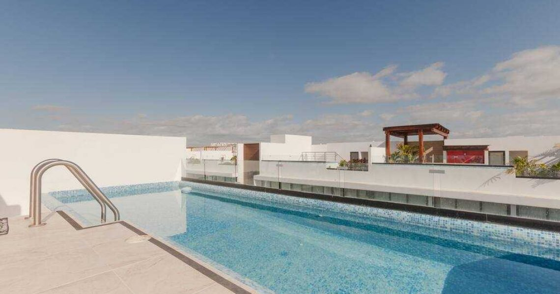 Playa del carmen penthouse rooftop pool the city